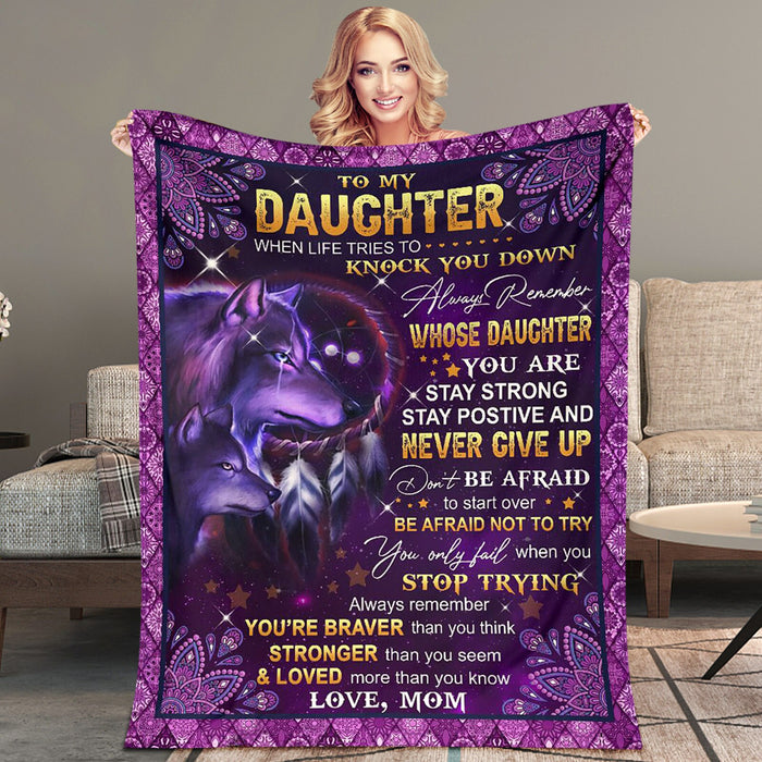 Special gift for Mother blanket