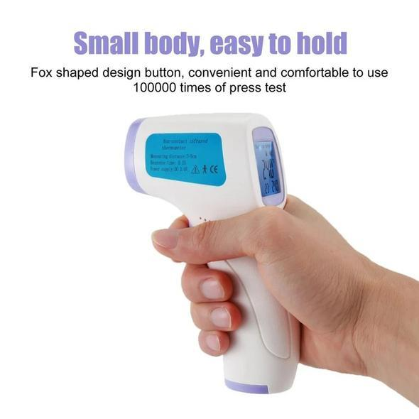 Digital Laser Infrared Forehead Thermometer