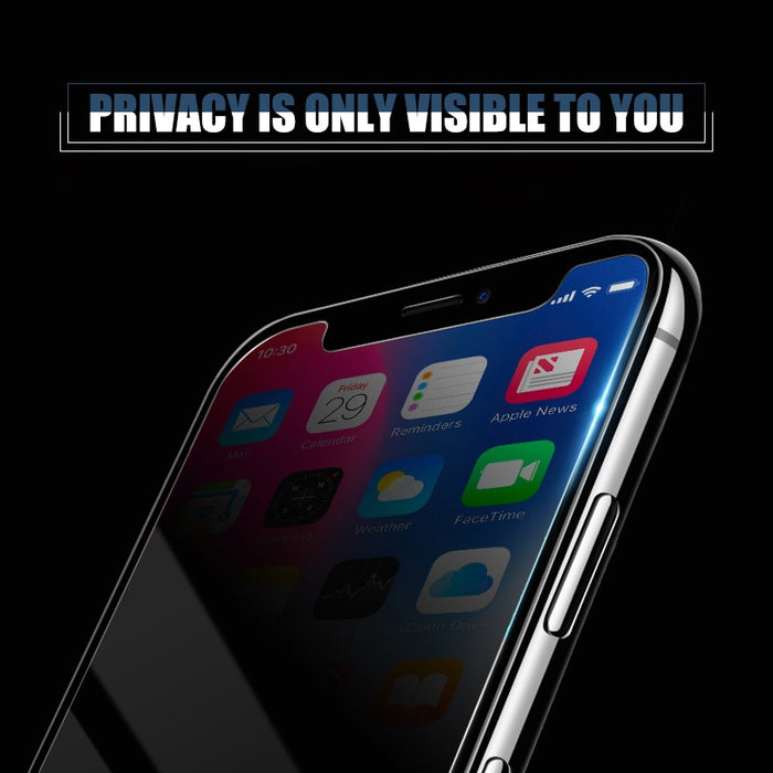 Privacy Tempered Glass For  Iphone