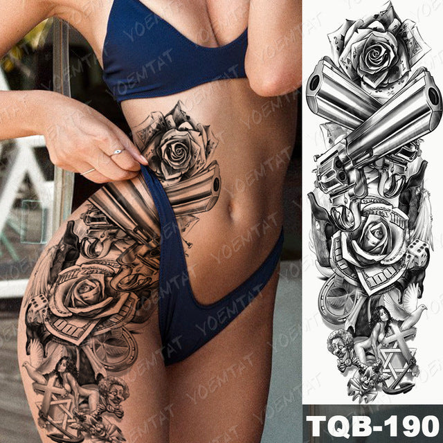 AMAZING TEMPORARY TATTOOS