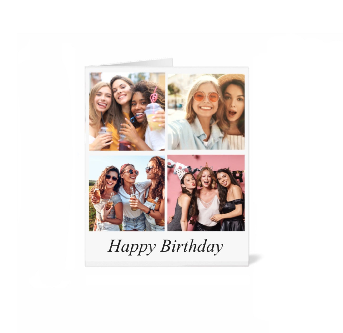 Personalised Combo Greeting Card