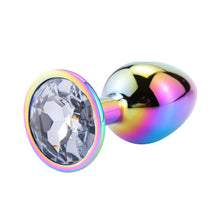 Load image into Gallery viewer, Ryo Colorful Metal Butt Plug
