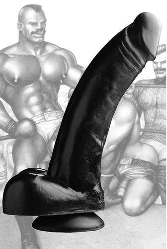 Tom of Finland Black Magic Dildo 9.5 inches / 24 cm - sextra69