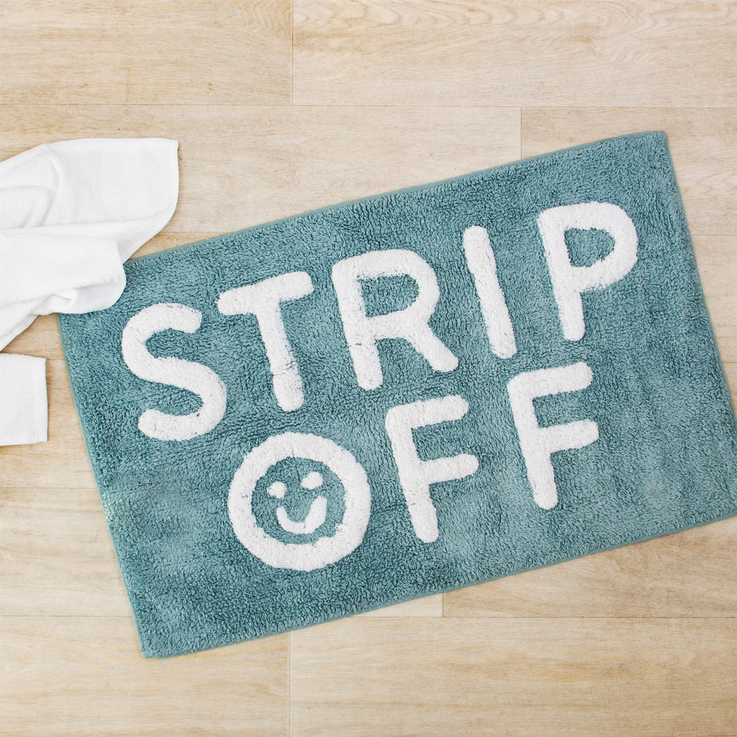 Strip Off Bath Mat