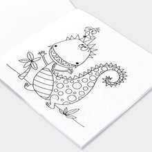 Load image into Gallery viewer, Dinosaur Colouring Book