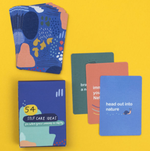 54 Self-Care Ideas Card Pack