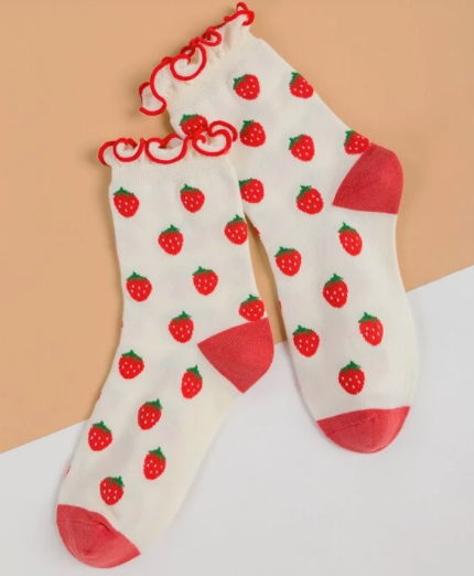 Socks Strawberry