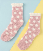 Load image into Gallery viewer, Socks Polka Dot Fuzzy