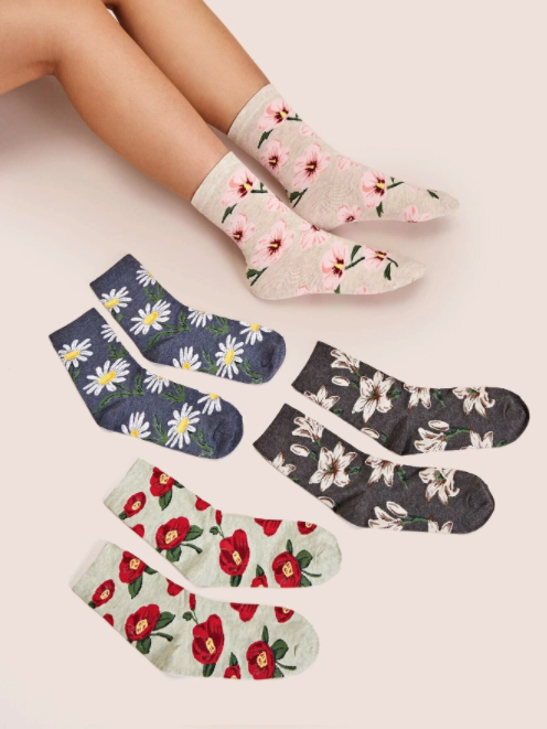 Socks Flowers Multiple Choice