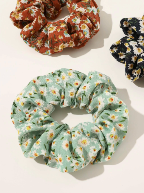 Scrunchie Flower Power