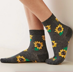 Load image into Gallery viewer, Socks Sunflower