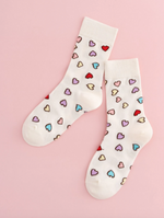Load image into Gallery viewer, Socks Heart Print