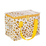 Load image into Gallery viewer, Natural Leopard Print Lunch Bag