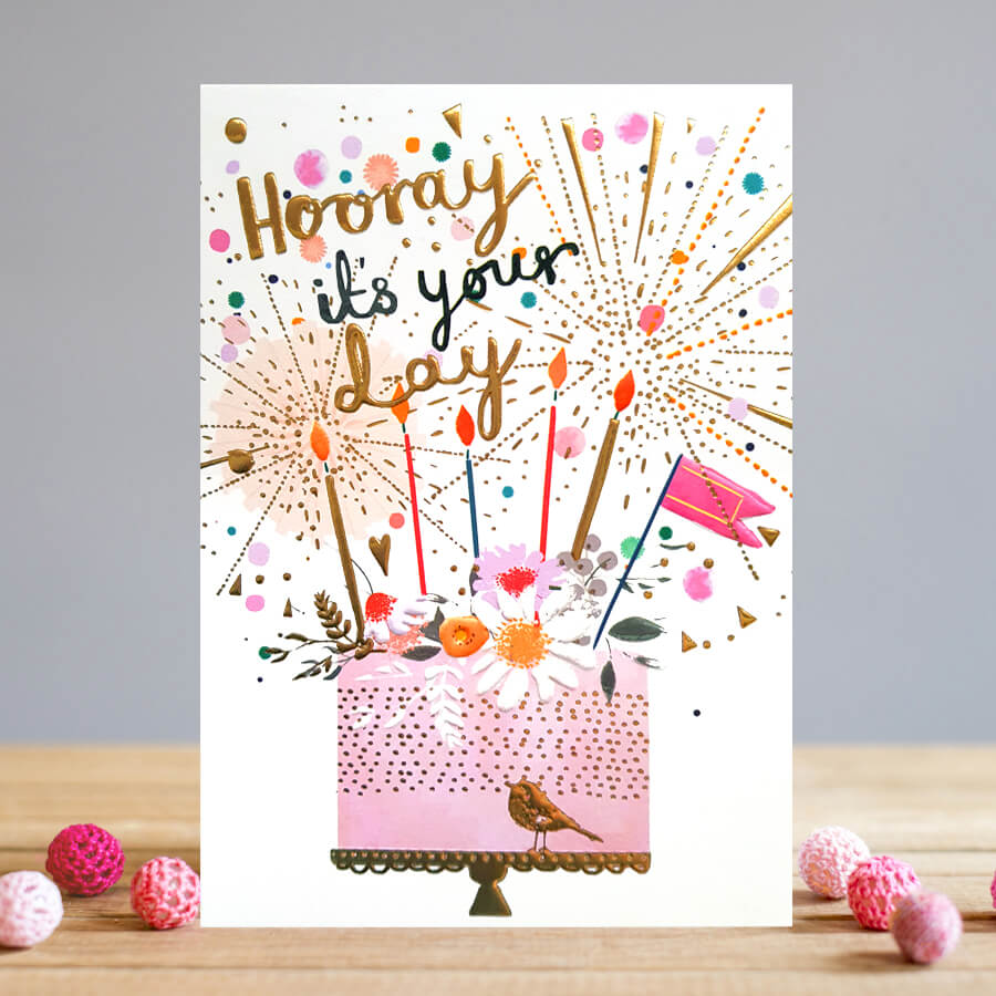 Cakes and Candles Card