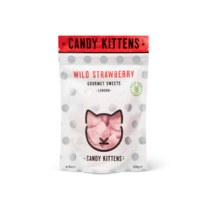 Candy Kittens Wild Strawberry Bag 108g & 138g
