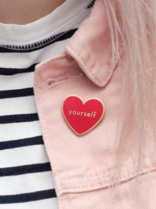 Enamel Pin Love Yourself