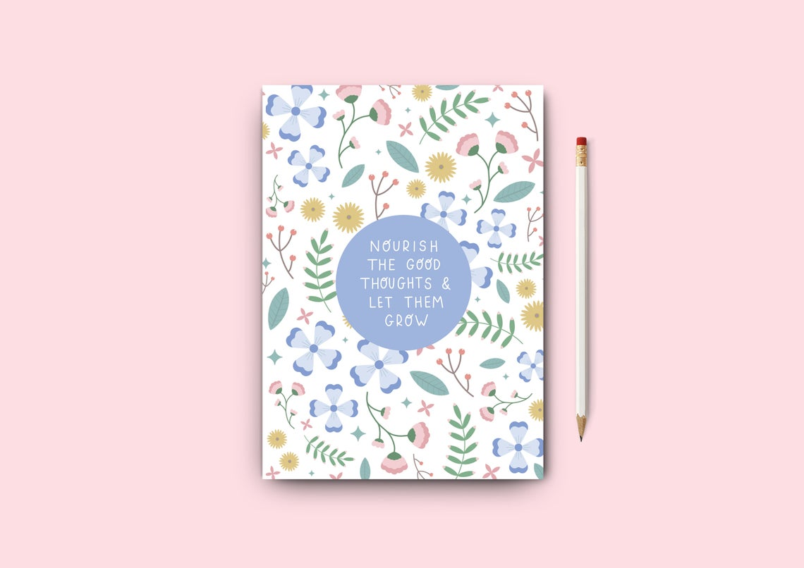 A5 Notebook Nourish And Grow