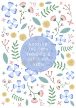 Load image into Gallery viewer, A5 Notebook Nourish And Grow