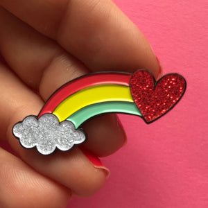 Together We Are Magic Rainbow Pin Set