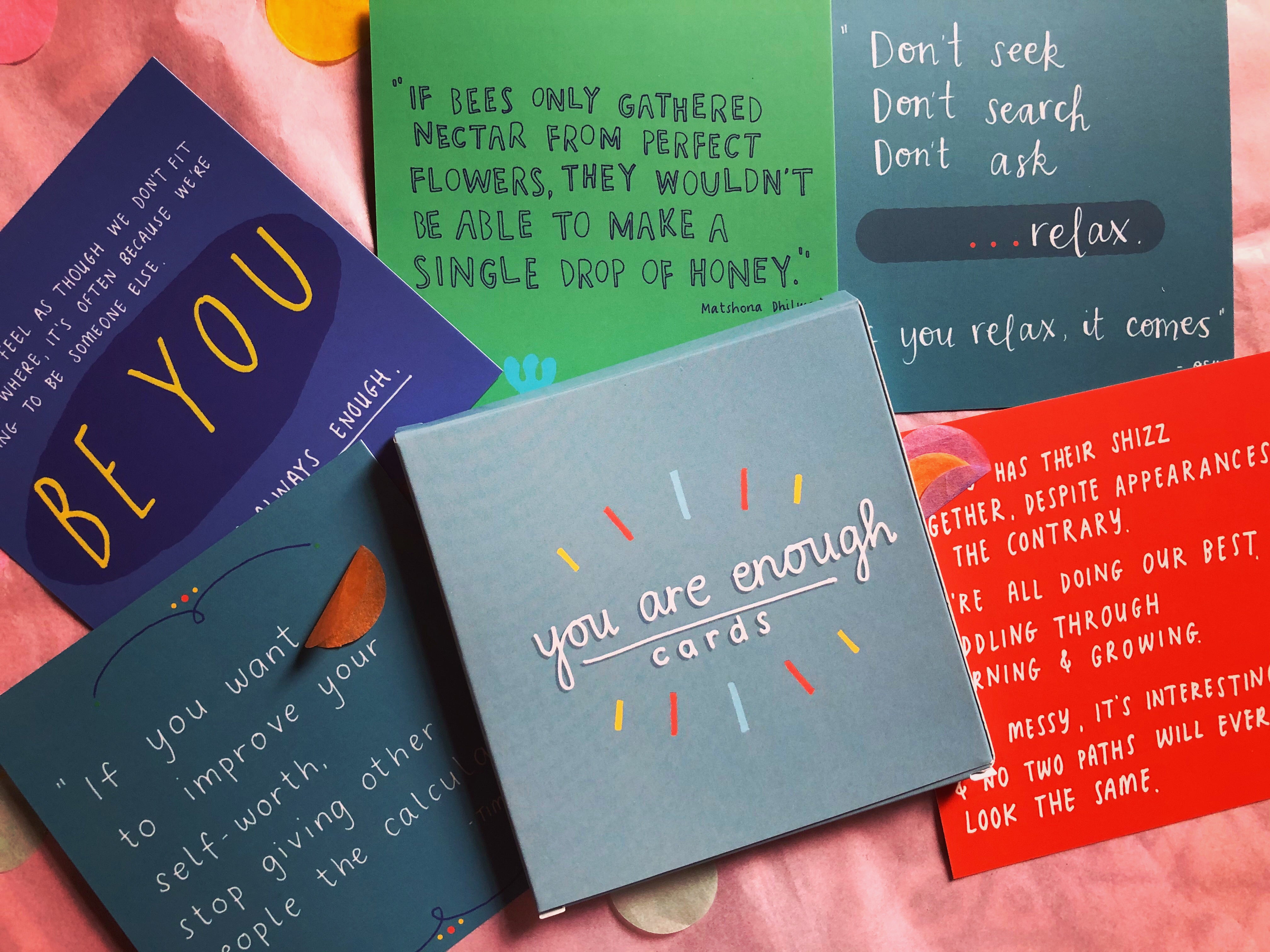 You Are Enough Cards