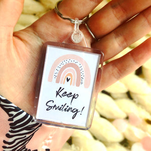 Keyring Keep Smiling