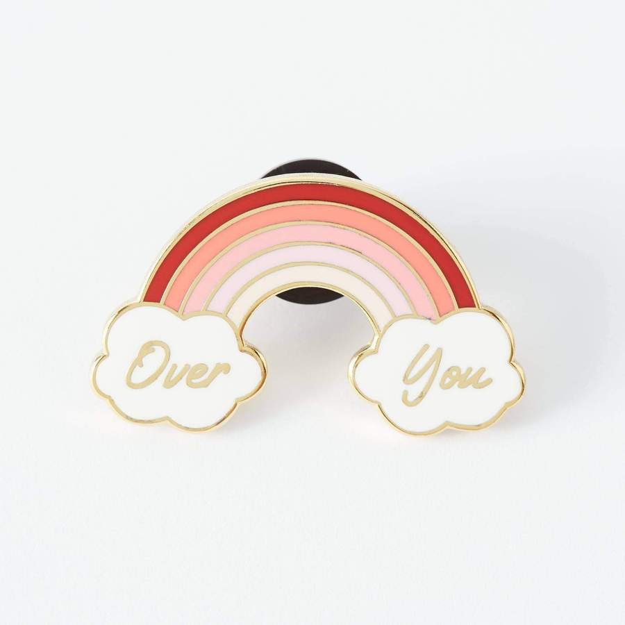 Enamel Pin Over You Rainbow