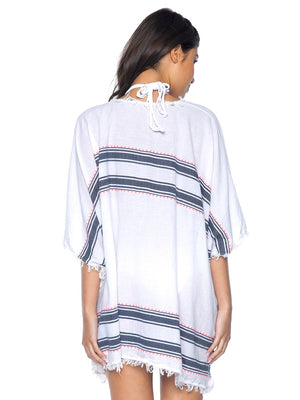 PilyQ Water Lily Hannah Tunic Cover Up