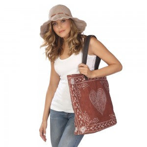 ale by Alessandra Follow Your Heart Tote Bag