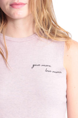 Give More Love More Lili Tank by Good HYOUman