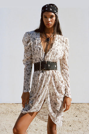 For Love & Lemons Paisley Midi Dress