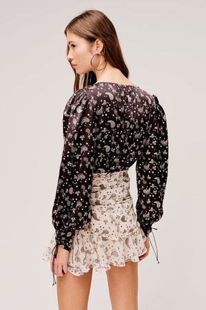 For Love & Lemons Paisley Skirt