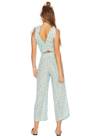 Beach Riot Mint Flower Celine Pant