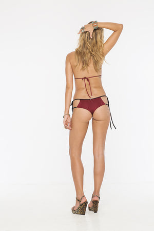 INDAH Tom Triangle Top & Cypress Double Strap Bottom Bikini