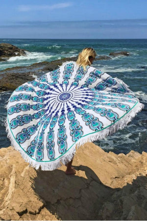 Vegabond Beach Gypsy Round Towel