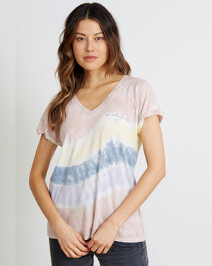 Grateful Heart Tie Dye Tee by good hYOUman