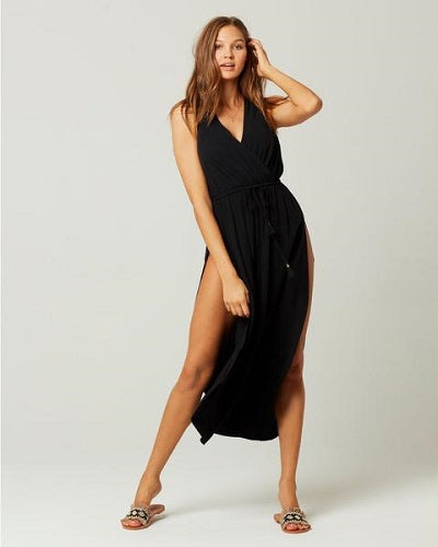 L*Space Kenzie Cover Up Maxi Dress in Black