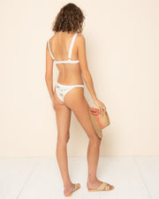 CHLOE BOTTOM | Wild Flower Ivory Combo