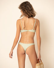 MALIBU BOTTOM | Riviera Stripe Olive