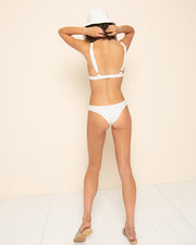 AIDEN BOTTOM | Selita Polka Ivory
