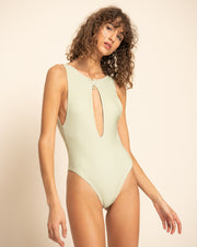 RYDER ONE PIECE | Riveria Stripe Olive