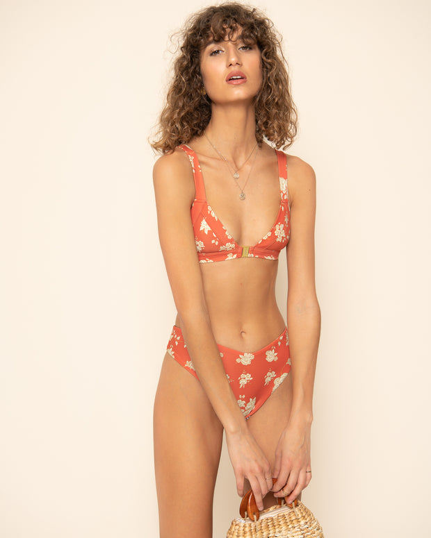 CAMDEN TOP | May Floral Red