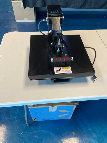15x15 Clamshell Heat Press