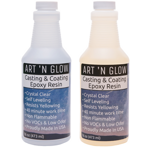 Art N Glow Clear Casting and Coating Epoxy Resin 32oz