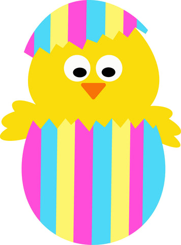 Stripe Chick SVG