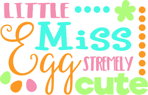 Eggstremely Cute SVG