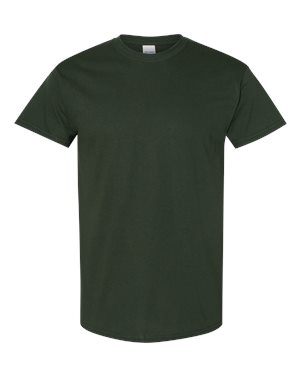 Blank Heavy Cotton Tshirt - Forest Green