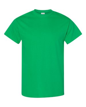 Blank Heavy Cotton Tshirt - Green