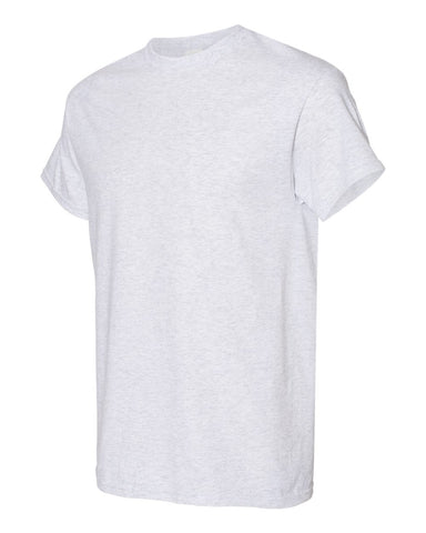 Blank Heavy Cotton Tshirt - Light Grey