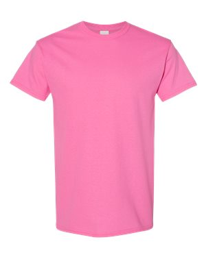 Blank Heavy Cotton Tshirt - Pink
