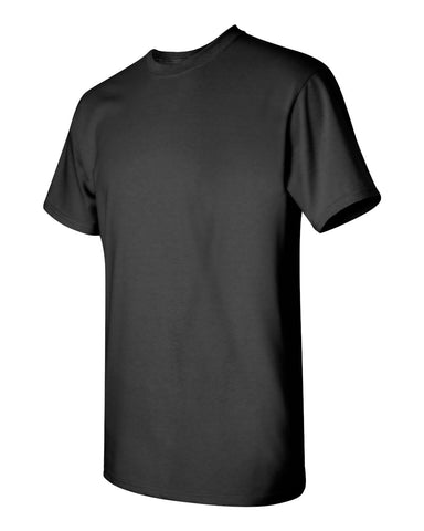 Youth Blank Heavy Cotton Tshirt - Black